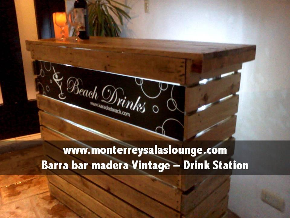 Barra de bar vintage barra de bar vintage marrn lady for Barra bar vintage